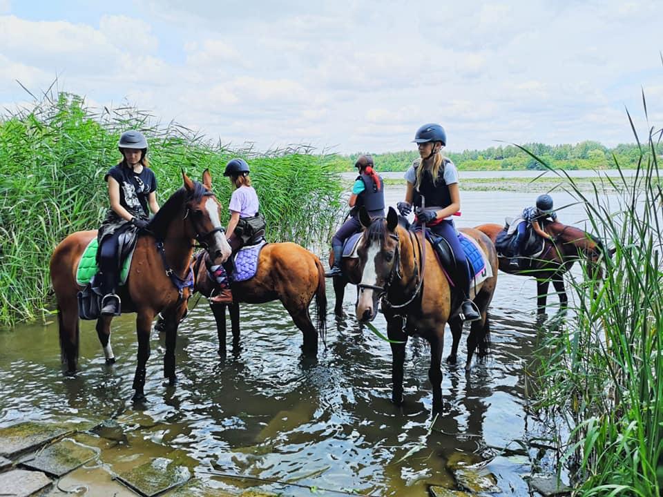 Półkolonie jeździeckie – ostatni tydzień sierpnia