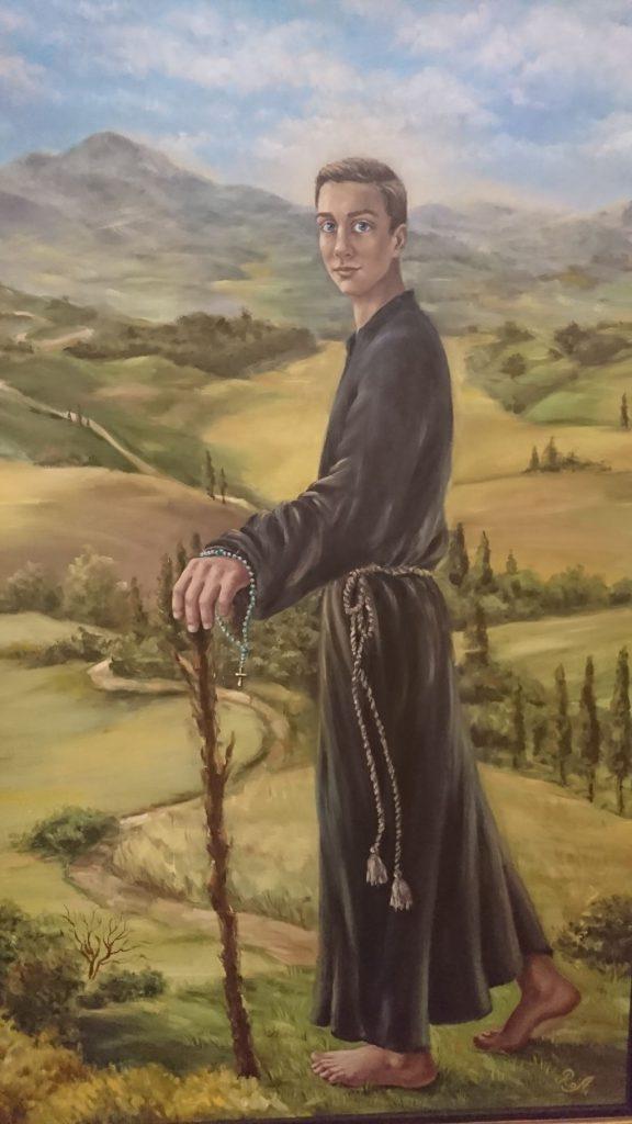 św. Stanisław Kostka - obraz Róży Artunian-Fijałkowskiej